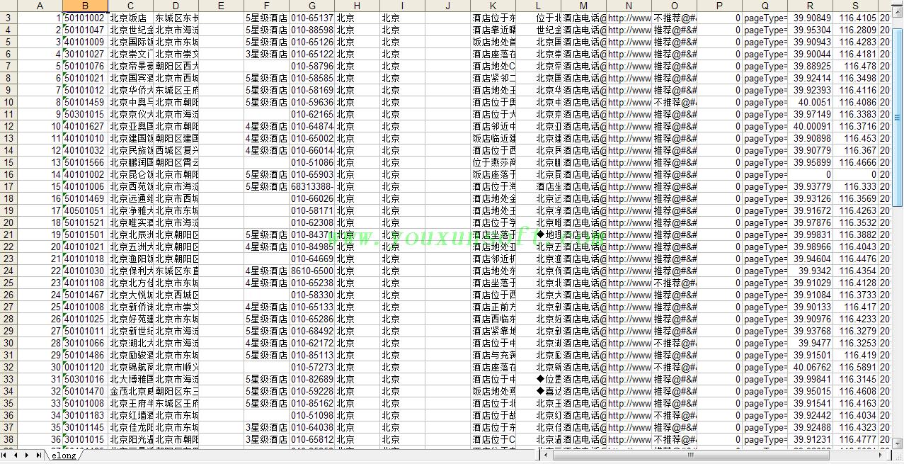 艺龙网酒店信息采集及价格更新软件-8