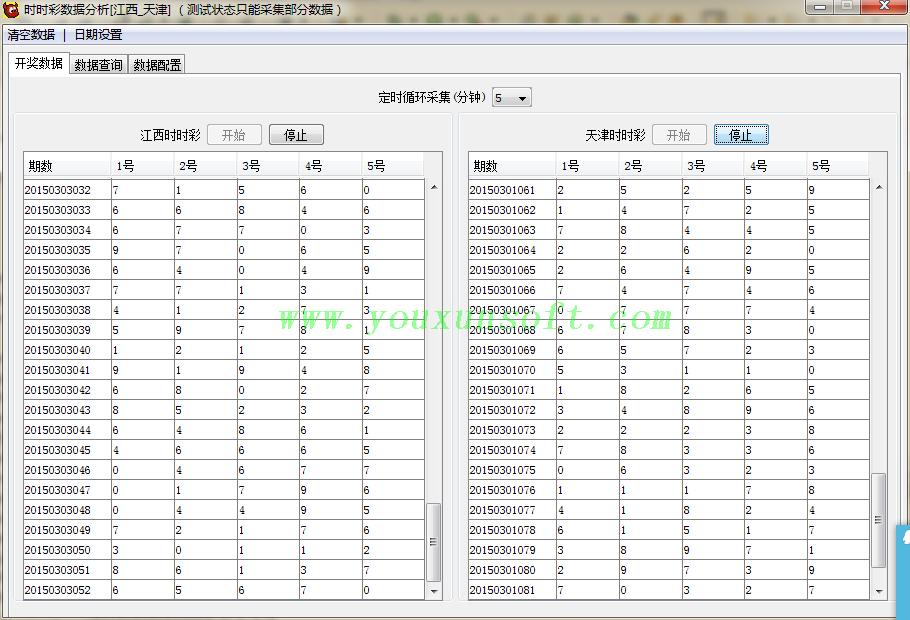 江西_天津时时彩数据分析器