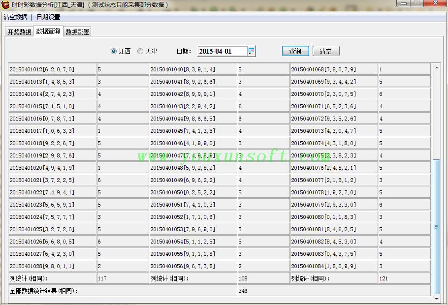 江西_天津时时彩数据分析器-2