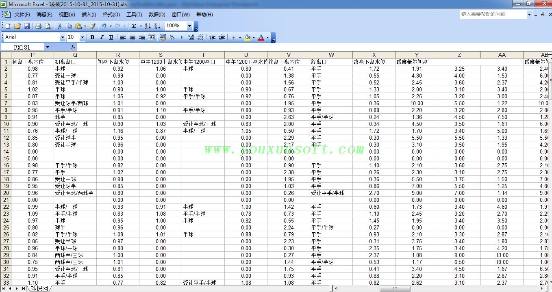 球探网足球赔率数据采集器V13采集数据-9