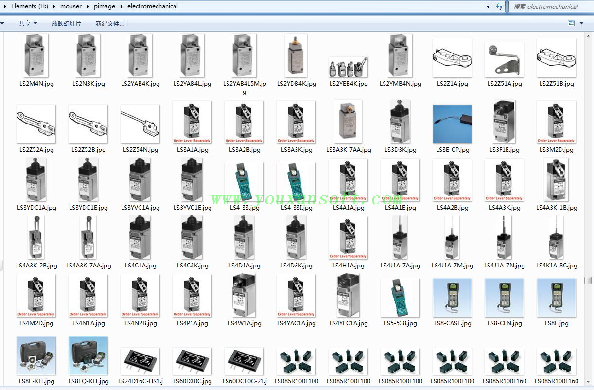 mouser_digikey_电子元器件采集软件V2-11
