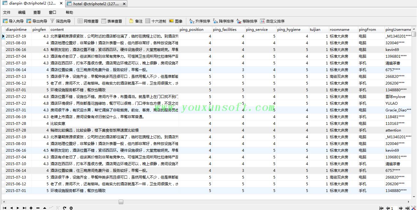 携程网国内酒店信息采集软件V4-4