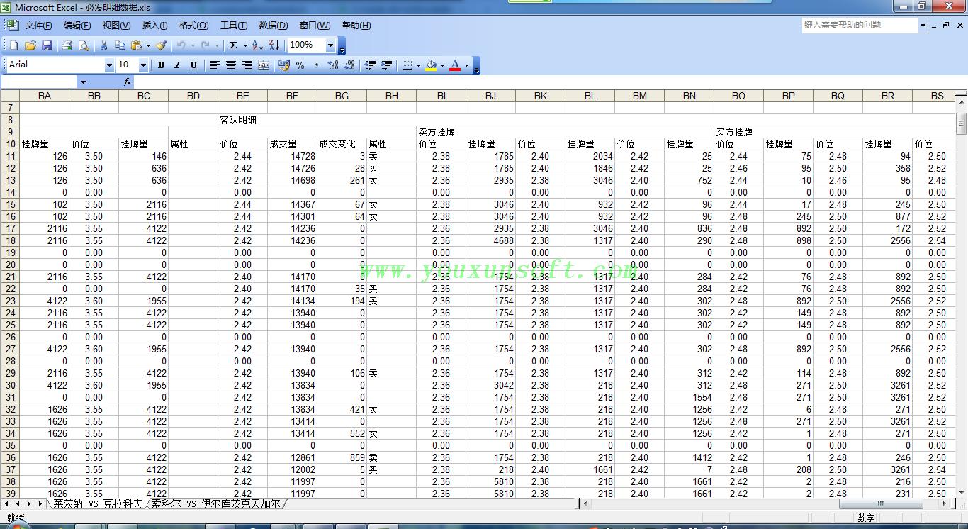 必发超级指数系统数据[回查-成交明细-监控]V3-16
