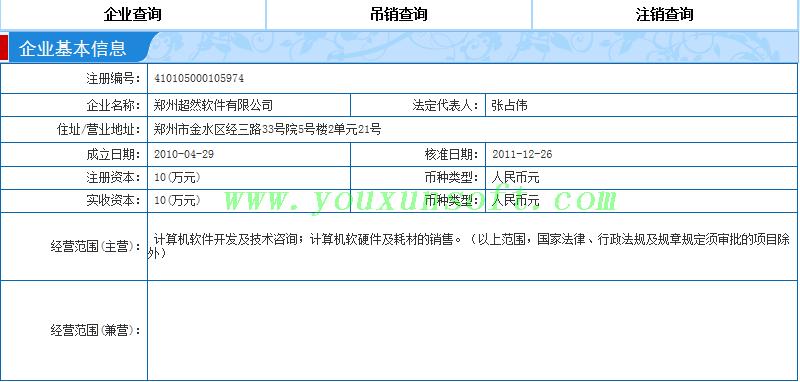 企业信息采集器[企业信用网_工商局网站]V1.0-9