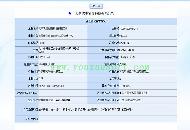 工商企业信用信息网企业信息查询器-3