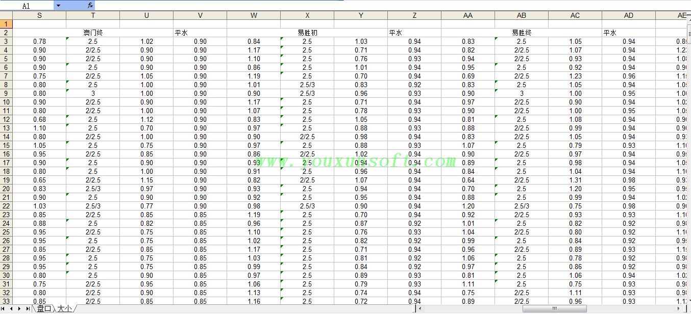 球探网足球赔率数据采集V16