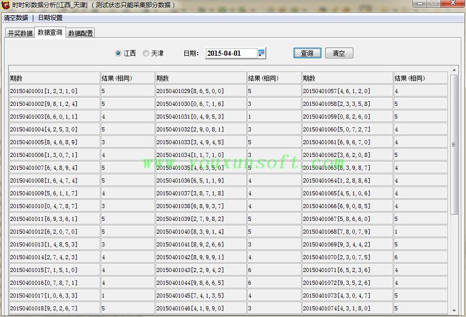 江西_天津时时彩数据分析器-1